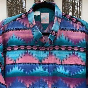 Vintage 90's ROPER Western Shirt